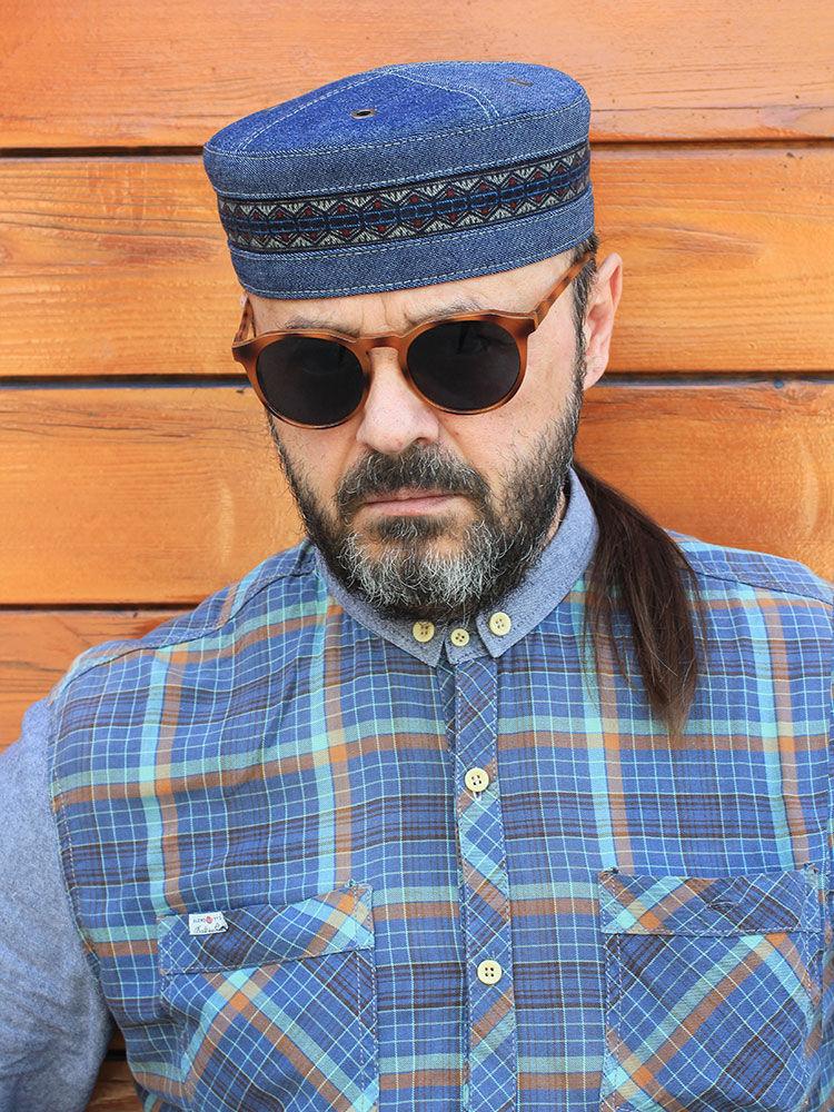 475104ac74e4a Hats handmade. Livemaster - handmade. Buy African cap kufi skullcap  Twilight Blues TLB- ...
