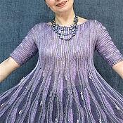 """Одежда ручной работы. Ярмарка Мастеров - ручная работа Платье """"Глициния"""". Handmade."""