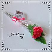 Цветы и флористика ручной работы. Ярмарка Мастеров - ручная работа Розы из конфет. Handmade.
