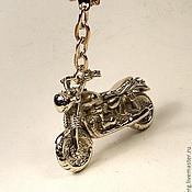 Сувениры и подарки ручной работы. Ярмарка Мастеров - ручная работа Брелок -сувенир-Мотоцикл. Handmade.