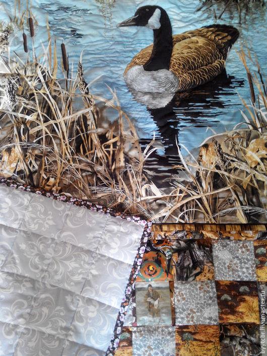 Текстиль, ковры ручной работы. Ярмарка Мастеров - ручная работа. Купить СЕЗОН ОХОТЫ Самый лучший подарок лоскутное одеяло подарок. Handmade.
