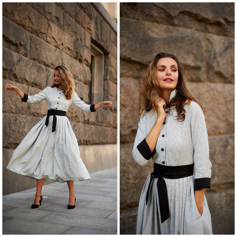 Dress shirt ' Audrey', Dresses, Moscow,  Фото №1