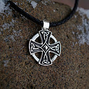 Украшения handmade. Livemaster - original item Celtic cross. Handmade.