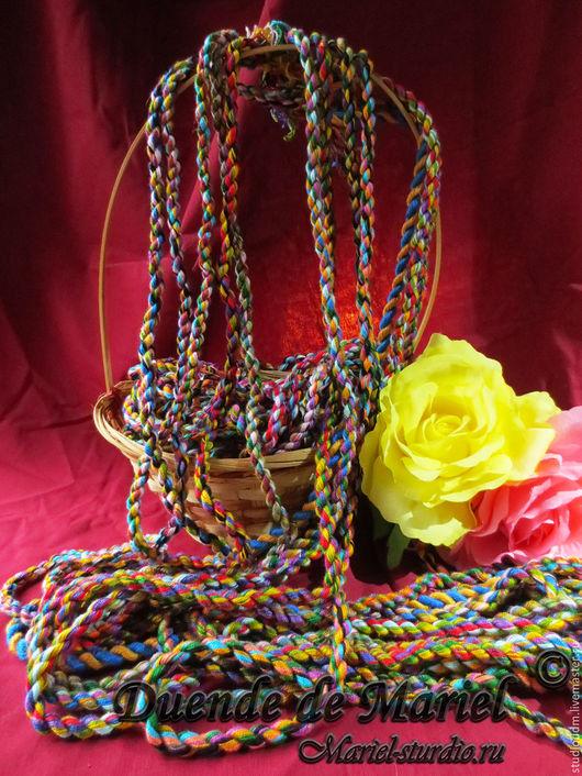 Жгуты-шнуры ручной работы! Данные жгуты можно использовать в качестве отделки для костюмов, сумочек и одежды!