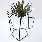 Цветы и флористика handmade. Livemaster - original item The Floriana. Pitcher. Floriana vase, height 17 cm. Handmade.