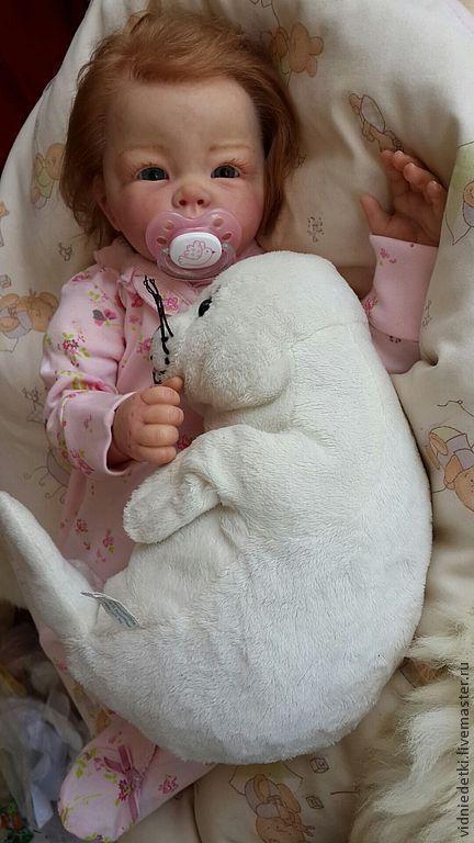 Куклы-младенцы и reborn ручной работы. Ярмарка Мастеров - ручная работа. Купить Кукла-реборн Лукерья от Elly Knoops. Handmade.