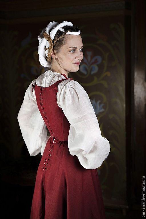 Женского платья средневековая русь