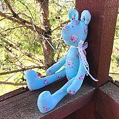 Куклы и игрушки ручной работы. Ярмарка Мастеров - ручная работа Мишка в стиле шебби шик. Handmade.