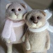 Куклы и игрушки ручной работы. Ярмарка Мастеров - ручная работа Два кота Атос и Портос. Handmade.