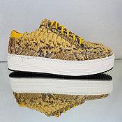 Обувь ручной работы handmade. Livemaster - original item Sneakers from Python ATLANTICA. Handmade.