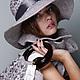 Шляпы ручной работы. Заказать Модные валяные шляпка, сумка и шарф из шерсти Королевская Охота.. Robertelia -чудо-войлок. Ярмарка Мастеров.