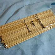 Материалы для творчества ручной работы. Ярмарка Мастеров - ручная работа палочки бамбуковые 100 шт. Handmade.