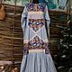"""Платья ручной работы. Ярмарка Мастеров - ручная работа. Купить Платье """"Фантазия"""". Handmade. Платье, нарядное платье, сатин"""