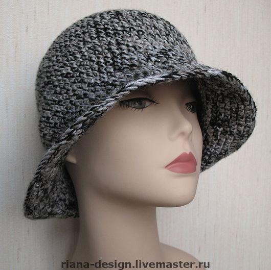 """Шляпы ручной работы. Ярмарка Мастеров - ручная работа. Купить Шляпа """"Твид"""". Handmade. Вязаные шляпы, Риана"""