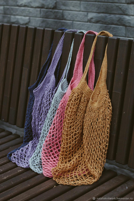 Bag shopping bag, String bag, Pskov,  Фото №1