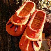 Обувь ручной работы. Ярмарка Мастеров - ручная работа Солнышко Осени. Handmade.