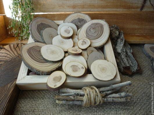 Другие виды рукоделия ручной работы. Ярмарка Мастеров - ручная работа. Купить Cпилы для эко-декора. Handmade. Бежевый