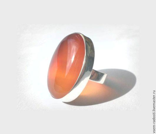 Кольца ручной работы. Ярмарка Мастеров - ручная работа. Купить Кольцо с сердоликом. Handmade. Сердолик, сердолик натуральный, кольцо из серебра
