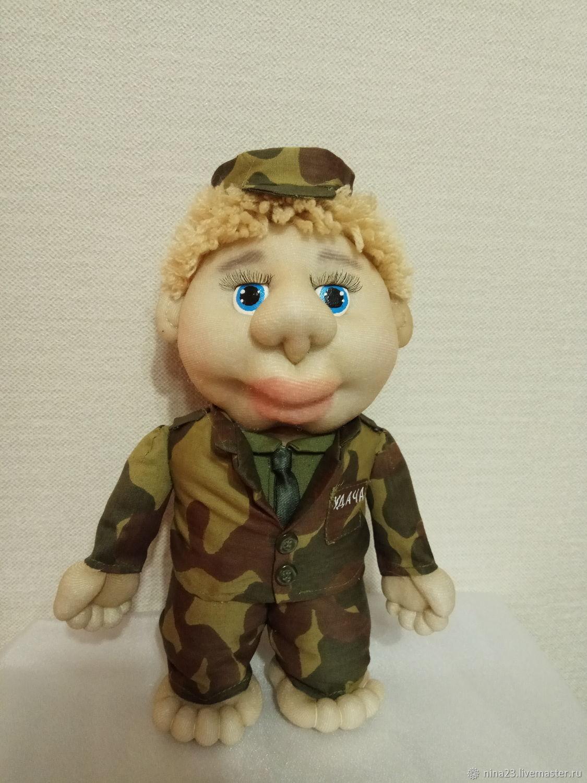 Кукла-попик Солдат-Военный, Куклы и пупсы, Нижний Новгород,  Фото №1