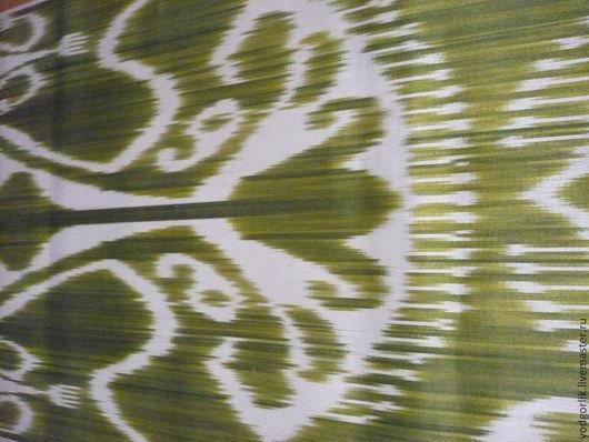 Шитье ручной работы. Ярмарка Мастеров - ручная работа. Купить Адрас шелковый. Handmade. Маргиланский шелк, шелк 100%, икат