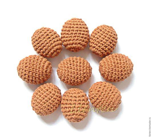 Для украшений ручной работы. Ярмарка Мастеров - ручная работа. Купить Набор из 9 бусин, 27 х 22 х 14 мм. Handmade.