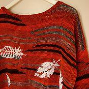 """Одежда ручной работы. Ярмарка Мастеров - ручная работа Джемпер """"Перья для ваших крыльев"""". Handmade."""