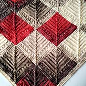 Аксессуары handmade. Livemaster - original item Shawl Arktous in the technique of patchwork. Handmade.