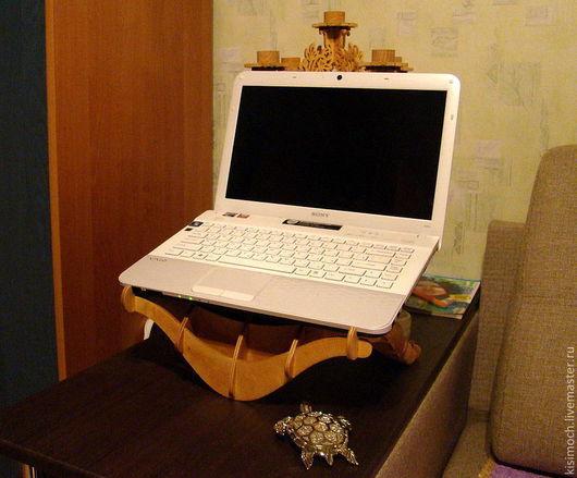 Компьютерные ручной работы. Ярмарка Мастеров - ручная работа. Купить Подставка для ноутбука. Handmade. Подарок, подарок сисадмину
