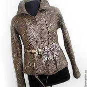 Одежда ручной работы. Ярмарка Мастеров - ручная работа Жакет ( куртка) СТАТУС. Handmade.