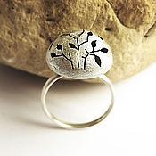 Украшения handmade. Livemaster - original item Silver ring hand-made