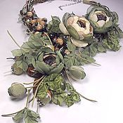 Jewelry Sets handmade. Livemaster - original item Flowers Of The Forest Fairies. jewelry set. A necklace, three brooches, earrings.. Handmade.