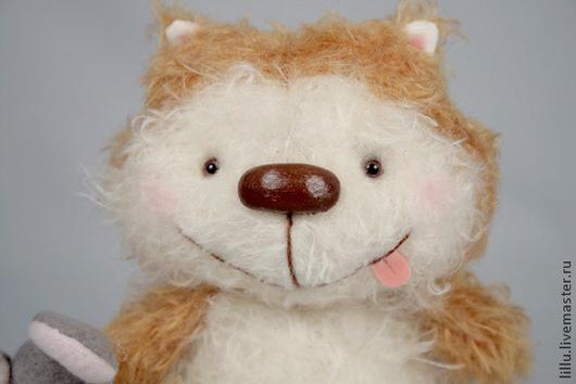 Мишки Тедди ручной работы. Ярмарка Мастеров - ручная работа. Купить Кот Редди. Handmade. Мишки тедди, лиля валеева