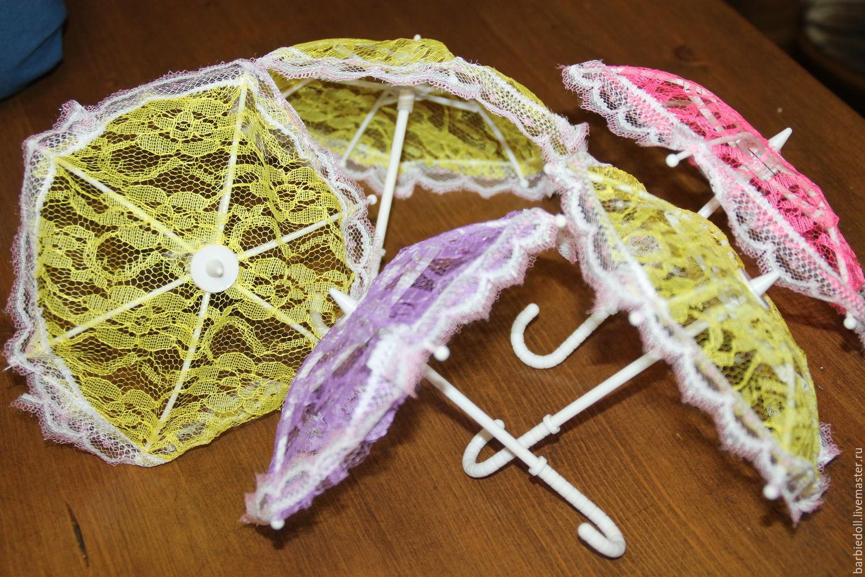 Как сделать зонтик для куклы своими руками из зубочисток 68