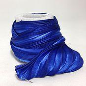 Материалы для творчества handmade. Livemaster - original item Silk ribbon Shibori N 75. Handmade.