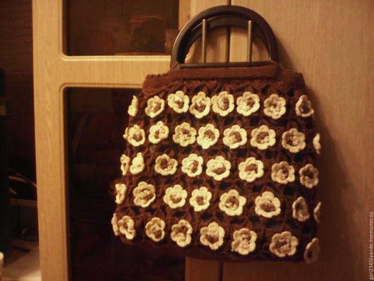 Женские сумки ручной работы. Ярмарка Мастеров - ручная работа. Купить сумка. Handmade. Комбинированный, ручная работа, хлопок, крючком