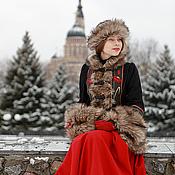 """Одежда ручной работы. Ярмарка Мастеров - ручная работа Кафтан """"Русские сезоны"""". Handmade."""