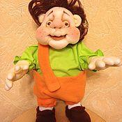 Куклы и пупсы ручной работы. Ярмарка Мастеров - ручная работа Карлсон.... пошалим(17). Handmade.