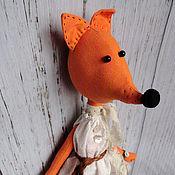 Stuffed Toys handmade. Livemaster - original item Beta`s Fox. Handmade.
