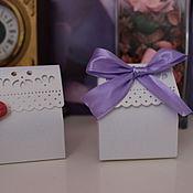 Свадебный салон ручной работы. Ярмарка Мастеров - ручная работа бонбоньерки. Handmade.