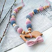 Одежда handmade. Livemaster - original item Slingobusy with bird and bow. Handmade.