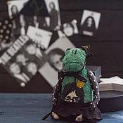 Куклы и игрушки ручной работы. Ярмарка Мастеров - ручная работа жаба Йоко. Handmade.