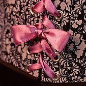 Одежда ручной работы. Ярмарка Мастеров - ручная работа Корсет подгрудный двухсторонний. Handmade.
