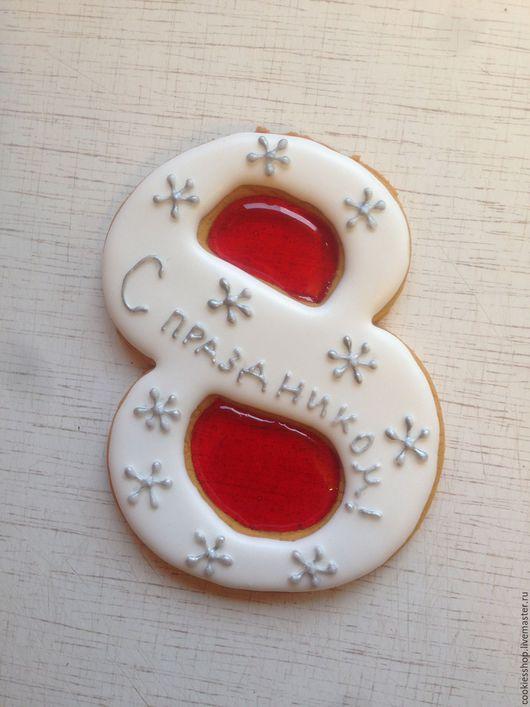Кулинарные сувениры ручной работы. Ярмарка Мастеров - ручная работа. Купить 8 марта. Handmade. Комбинированный, пряники, 8марта