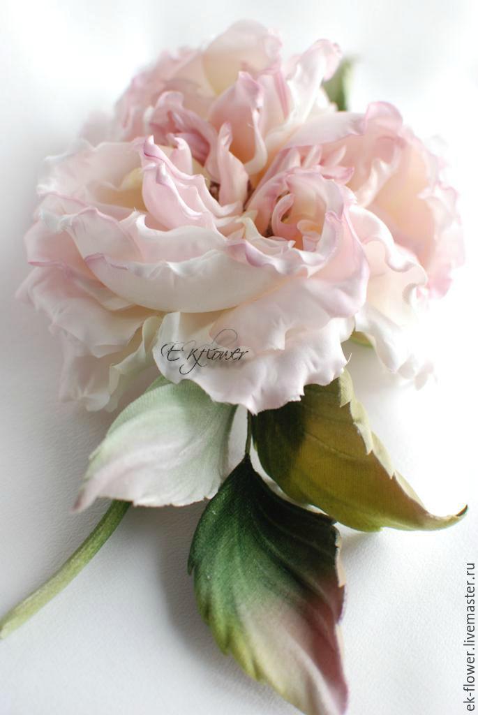 Fabric flowers silk flowers rose anelia shop online on flowers handmade livemaster handmade buy fabric flowers silk flowers mightylinksfo