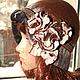 Шляпы ручной работы. Ярмарка Мастеров - ручная работа. Купить Шляпка-клош в коричневых тонах. Handmade. Коричневый