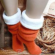 Аксессуары ручной работы. Ярмарка Мастеров - ручная работа Ранчо моего дедушки. Носки вязаные, шерстяные, подарок ручной работы. Handmade.