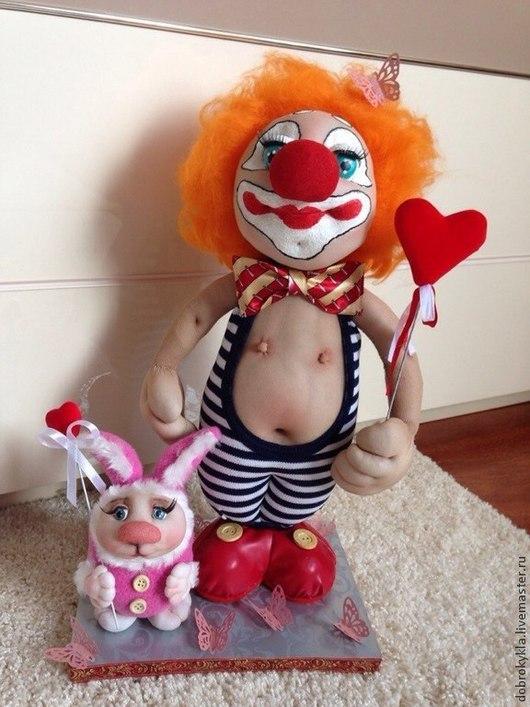 Цирк уехал ,а клоуны остались!!!!Готовая композиция ручной работы!Отличный подарок на любой праздник!!!Оксана Добровольская!