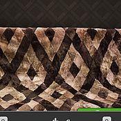 Для дома и интерьера ручной работы. Ярмарка Мастеров - ручная работа Плед из кусочков мутона. Handmade.
