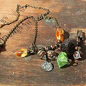 Украшения handmade. Livemaster - original item Necklace: in vintage style