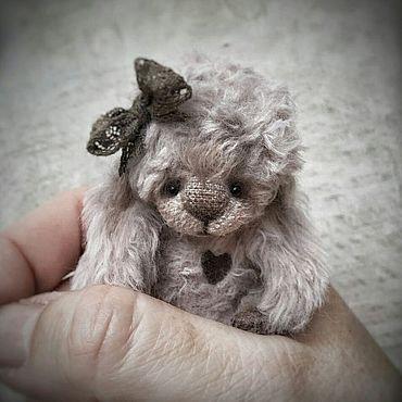 Куклы и игрушки ручной работы. Ярмарка Мастеров - ручная работа Игрушки: Тедди зайка Стефани. Handmade.